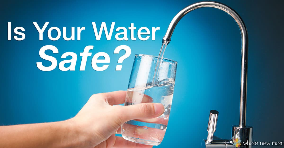 """Is tap water safe to drink? There's so much to think about regarding toxins we put in our bodies - from pesticides on food, to chemicals on our lawns, to chemicals in our personal care products, chemical """"nasties"""" are everywhere. But are they even in our water?"""
