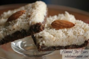 Almond Joy Candy Bars