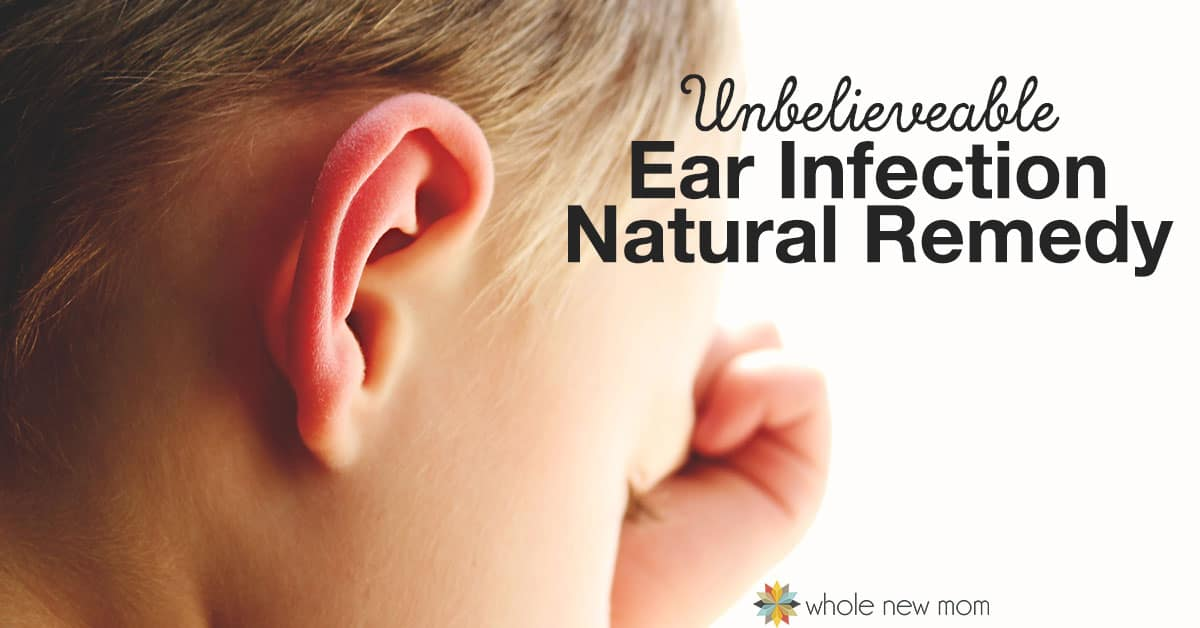 I can't believe this Natural Ear Infection Remedy worked. And I can't believe I tried it! Would you try this ear infection treatment on your child?