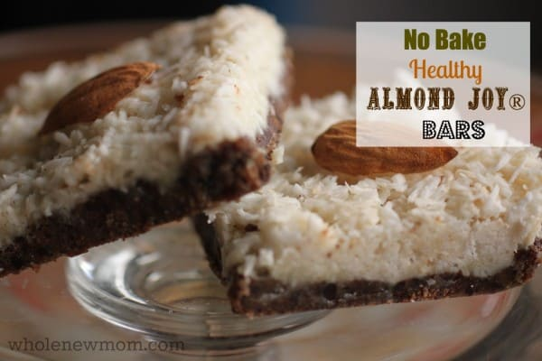 These No Bake Healthy Almond Joy® Bars are a great allergy-friendly, sugar-free treat for summertime--or anytime!