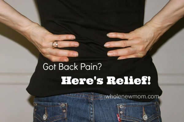 Natural Back Pain Treatment that really works! You won't believe what might be causing your back pain (and more) and how easy it is to resolve it!