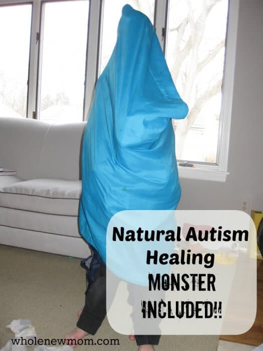 What does a Blue Monster have to do with healing from autism? Find out here.