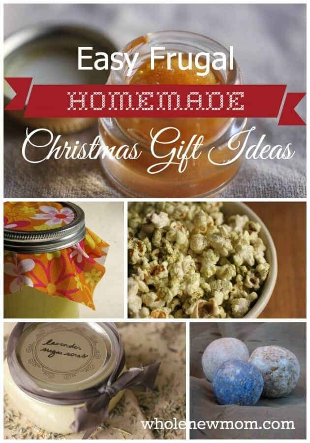 Easy frugal homemade christmas gifts love making handmade gifts for the people on your gift list these easy homemade christmas forumfinder Image collections