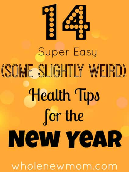 14 Health Tips for the New Year