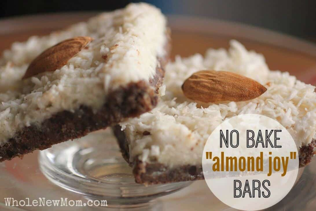 No Bake Almond JoyR Bars