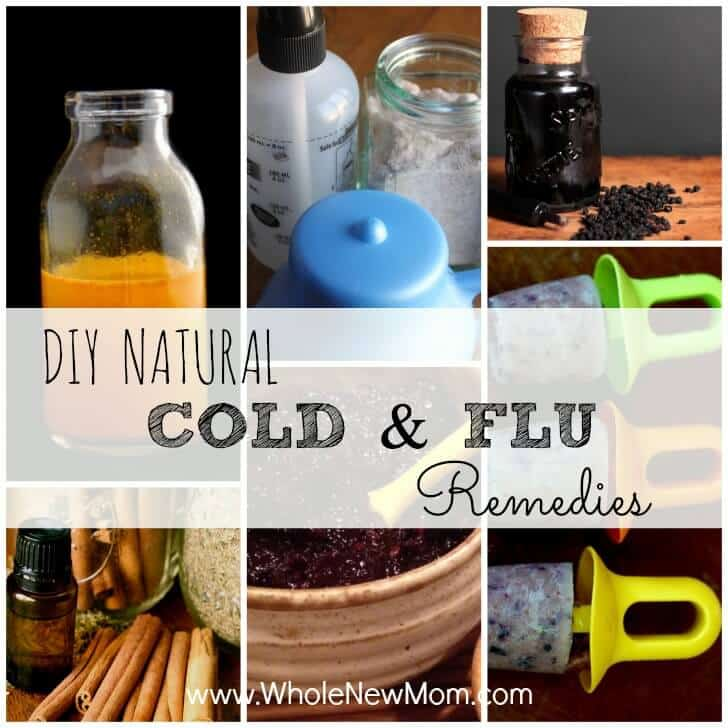 Got the sniffles or flu? Here are Loads of DIY Natural Cold Remedies and Flu Remedies to help you keep the bugs