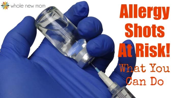 Allergy Shots are seriously at risk to being unavailable and unaffordable due to proposed governmental regulations. Act now to help!