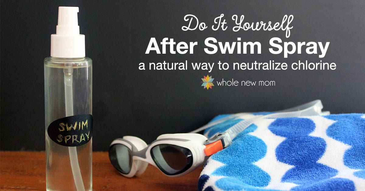 DIY Swim Spray - Vitamin C Swim Spray