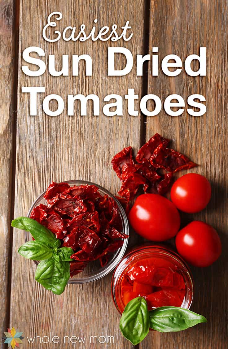 Do you love Sun-Dried Tomatoes but don't love the price? Here's how to make your own - easily and on the cheap!