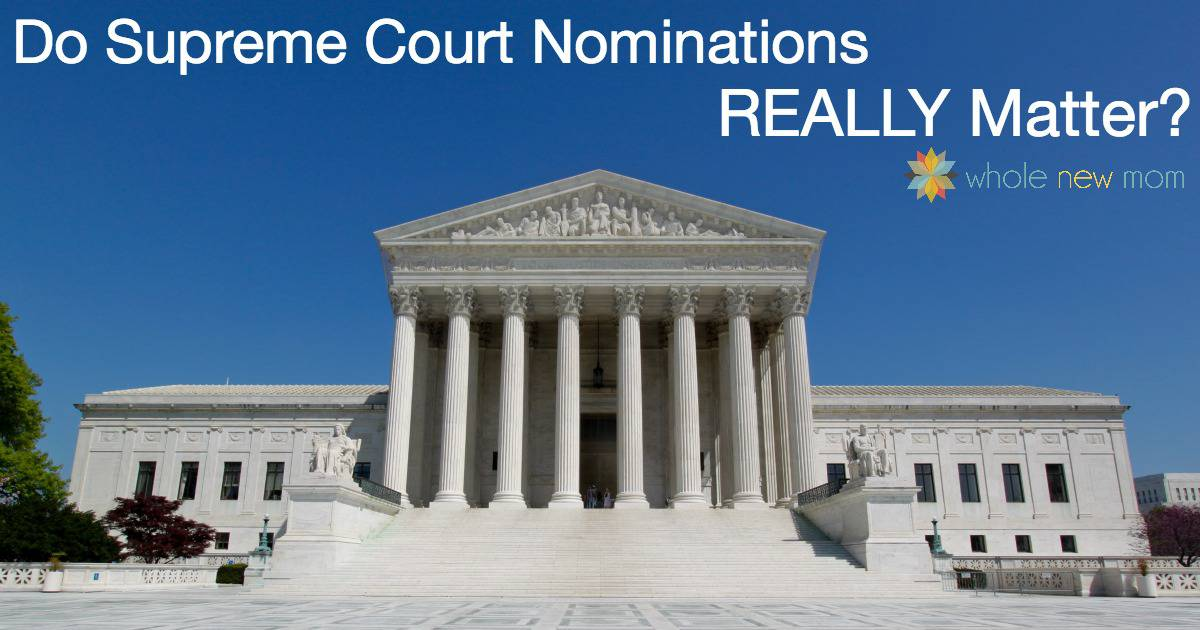 Will the next President really make a difference regarding the Supreme Court? Or is it a complete waste of time and effort?