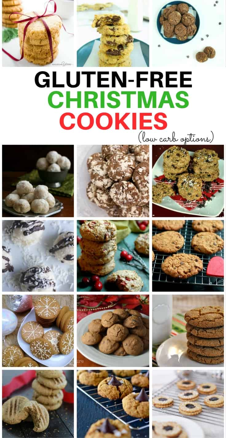 This assortment of Gluten-free Christmas Cookies is perfect for all of your Holiday Baking! From Gingerbread to Peanut Butter Blossoms, there are loads of Healthy Christmas Cookies for everyone!