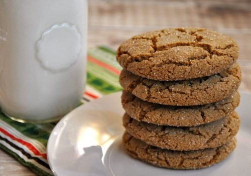 Kid-Approved Gluten-Free Gingersnap Cookies