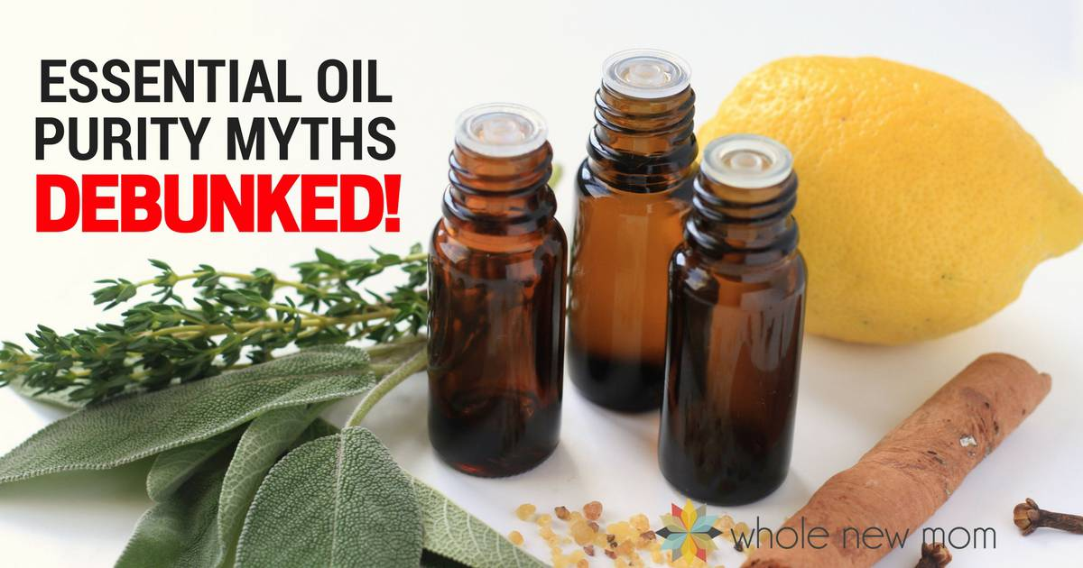 Some of the most popular essential oil purity myths DEBUNKED! So you can navigate the marketplace with real knowledge!
