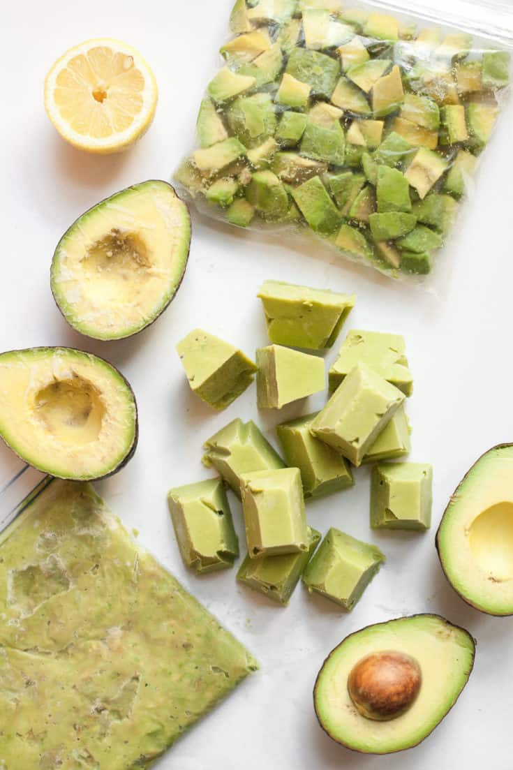 Freezing Avocados - how to freeze avocados