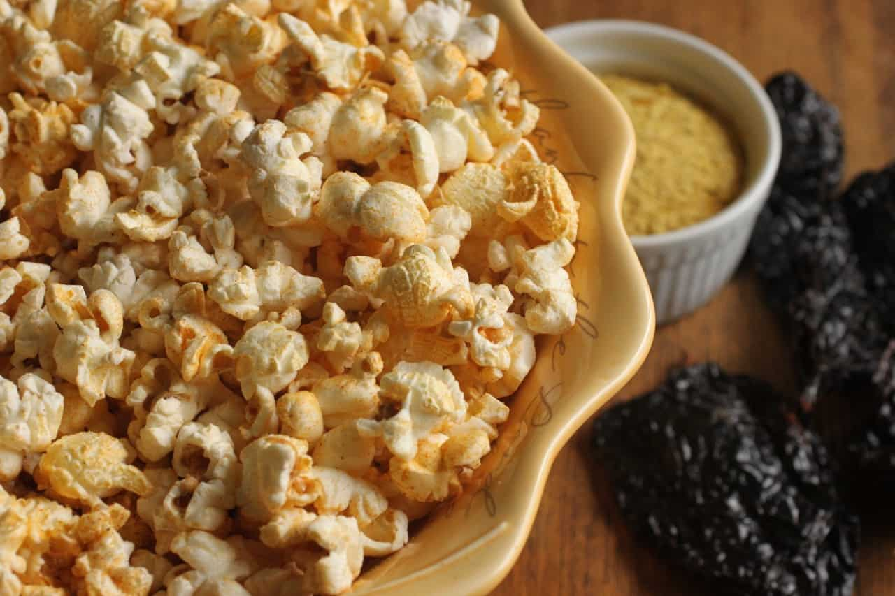"""Love DORITOS® but you don't like all of the chemical nasties? Get """"Dorito®"""" Flavor without the chemicals with this Dorito® Popcorn! It's a great dairy free seasoning that tastes great on veggies, salads, kale chips, pasta, rice, and more!"""